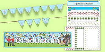 School Graduation Pack - graduation, school, pack, graduate