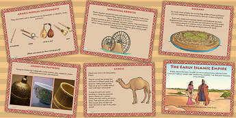 Early Islamic Civilisation Culture PowerPoint - history, islam