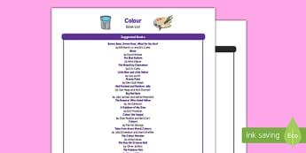 Colour Book List