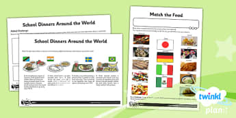 PlanIt - DT UKS2 - Global Food Unit Home Learning Tasks - planit