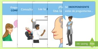 Pósters DIN A4: Sé independiente - independencia, sé independiente, póster, pósters, DIN A4,mural, decoración, decorar, exponer, ex