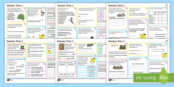 Year 4 Summer Term 1 SPaG Activity Mats - SPaG Activity Mats KS2