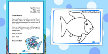 Collage Resource Pack to Support Teaching on The Rainbow Fish - eyfs, early years, planning, under the sea, collage