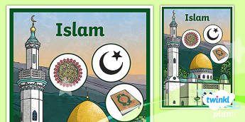 PlanIt - RE Year 3 - Islam Unit Book Cover - planit, re, religious education, year 3, y3, islam, unit, book cover, lessons