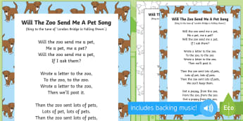 Will the Zoo Send me a Pet? Song - Dear Zoo, Rod Campbell, animals, letter to the zoo, zoo, singing, song time