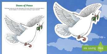 Doves of Peace Activity Sheet