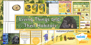 PlanIt - Science Year 5 - Living Things and Their Habitats Unit Additional Resources - planit, science, year 5, living things and their habitats, unit, additional resources