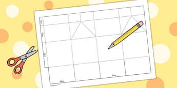 Design Your Own Milk Carton - milk carton, art, shape, shape net