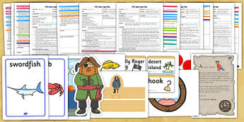 EYFS Pirate Themed Adult Input Planning Pack - planning pack