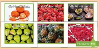 Fruit Display Photos - German  - Obst, healthy, German, Photos, food