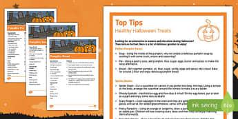 Healthy Halloween Treats Top Tips