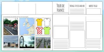 Tour de France Brochure Template - le tour, sport, pe, sports