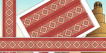 Early Islamic Civilization Themed Border Pieces - borders, islam
