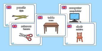 Classroom Posters Portuguese Translation - portuguese, classroom, posters, display, display posters