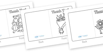 Class Visitor Thank You Cards - Card template, visitor, people who help us, editable template, card design, design, card, card template, congratulations, thank you, well done, happy birthday, happy Christmas