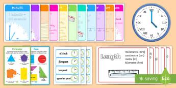 Measurement Display Pack LKS2 - measurement, display pack, lks2