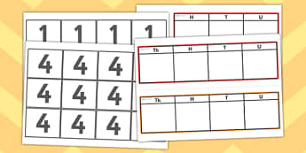 Place Value Game - place value, value, place, placing, game, activity, fun, right, numbers, numeracy, KS2, Maths, match, matching