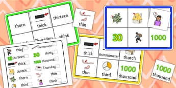 th Sound Bingo and Lotto Game - sounds, bingo, lotto, game, th