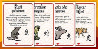 Chinese New Year Zodiac Animal Characteristics Romanian Translation - romanian, chinese new year, zodiac, animal, characteristics