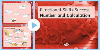 Functional Skills Number and Calculation Success PowerPoint - KS4, KS5, adult education, maths, numeracy, functional skills, SEN, assessment, objectives