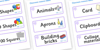 Lilac Themed Editable Classroom Resource Labels - Themed Label template, Resource Label, Name Labels, Editable Labels, Drawer Labels, KS1 Labels, Foundation Labels, Foundation Stage Labels, Teaching Labels, Resource Labels, Tray Labels, Printable lab