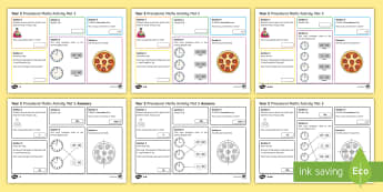 Procedural Year 2 Mat 5 Maths Activity Mats - Maths Acitvity Mats, matiau mathemateg, gweithgareddau mathemateg, Deunyddiau sampl rhifedd, Profion