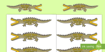 Greater Than and Less Than Crocodiles English/Romanian - Greater Than And Less Than (Crocodiles, Small) - greater than, less than, maths, numeracy, greater t