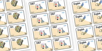 Rabbit Themed Editable Book Labels - Themed Book label, label, subject labels, exercise book, workbook labels, textbook labels
