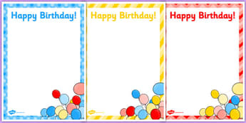 3rd Birthday Party Editable Poster - 3rd birthday party, 3rd birthday, birthday party, editable poster