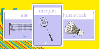 Rio 2016 Olympics Badminton Display Posters - Badminton, Olympics, Olympic Games, sports, Olympic, London, 2012, display, banner, poster, sign, activity, Olympic torch, events, flag, countries, medal, Olympic Rings, mascots, flame, compete