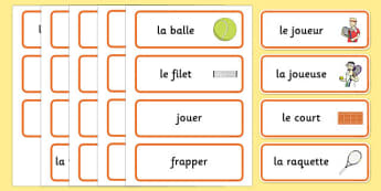 Roland-Garros Word Cards French - french, roland-garros, french opens, stadium, word cards