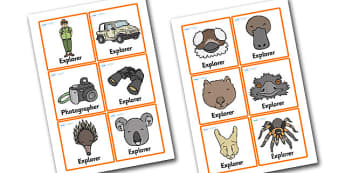 Outback Explorer Role Play Badges - outback explorer, role play, role play badges, outback explorer roleplay, outback explorer roleplay badges