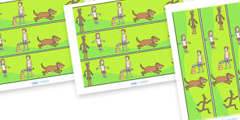 Display Borders to Support Teaching on Stick Man - Stick Man, Julia  Donaldson, resources, family tree, Stick Lady Love, Christmas, Father Christmas, story, story book, story book resources, story sequencing, story resources, Display border, classroo
