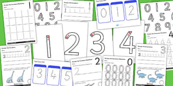 Number Formation Resource Pack - number, formation, resource