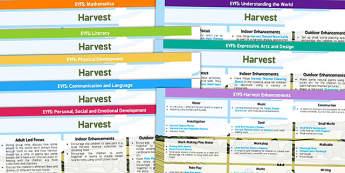 EYFS Harvest Lesson Plan and Enhancement Ideas - harvest, lesson plan ideas, EYES, lesson ideas, lesson plans, harvest lesson, EYFS lesson, ideas for lessons, teaching ideas
