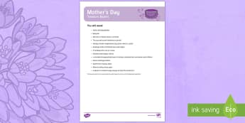 Mother's Day Treasure Basket Ideas - EYFS Mother's Day (26th March), explore, discovery basket, baby play, toddler play