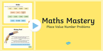Year 6 Place Value Number Problems Maths Mastery PowerPoint