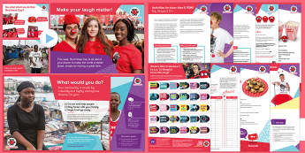 Red Nose Day 2017 Secondary Resource Pack - KS3, KS4, KS5