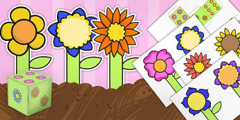 Number Flowers Game Pack - number, flowers, game, pack, numbers