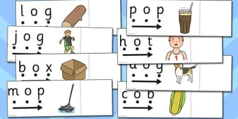 CVC Words o Read and Reveal - read, reveal, words, cvc, letter, o