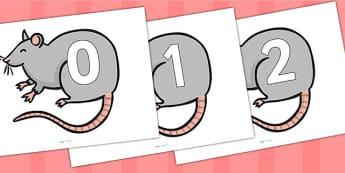 0 20 on Rats - number display, counting, rats, animals, numbers