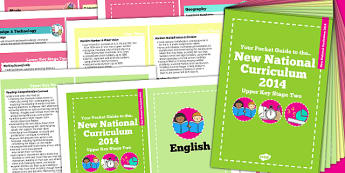 2014 Curriculum Cards UKS2 Core And Foundation Subjects - UKS2