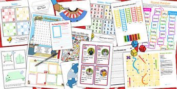 KS2 End of Term Resource Pack - transition, key stage two, pack