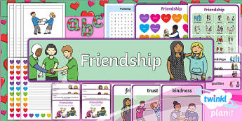 PlanIt - RE Year 1 - Friendship Additional Resources - Friendship, RE, relationships, caring for others, PSHE