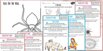 Charlottes Web Inspired Drama Activities - story, stories, books