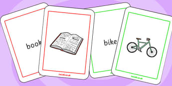 Initial b Sound Matching Cards - sound, matching cards, cards