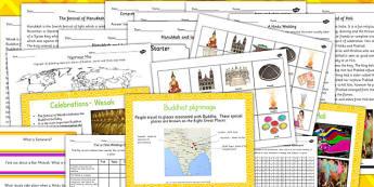 Buddhism Judaism and Hinduism Celebrations Pilgrimage and Worship