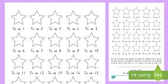 Mahere Tohu Wharepaku Sticker Reward Charts Te Reo Māori - New Zealand Back to School, toilet training, reward, stickers, wharepaku, mahere