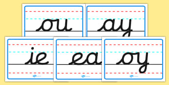 Phase 5 Handwriting Posters - phase five, handwriting, posters, display