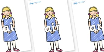 Phase 3 Phonemes on Goldilocks - Phonemes, phoneme, Phase 3, Phase three, Foundation, Literacy, Letters and Sounds, DfES, display